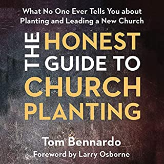 The Honest Guide to Church Planting audiobook cover art