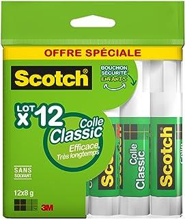 Scotch Lot de 12 Bâtons de colle 8 g