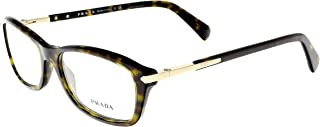 Prada Women's PR 04PV Eyeglasses Havana 54mm