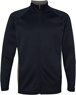 Mens 5.4 Oz. Perfor Colorblock Full-Zip Jacket (S270)