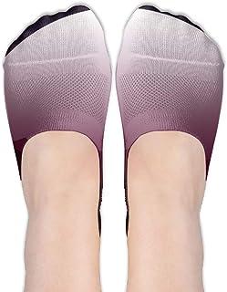Space Meteor Shower Moon Star Planet Women's Polyester Cotton Socks Ladies Boat Socks Deodorant Boat Socks Thin Section Ca...