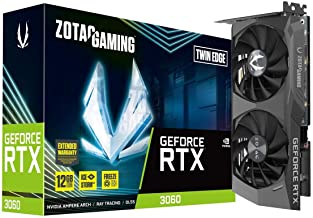 ZOTAC Gaming GeForce RTX 3060 Twin Edge 12GB GDDR6...