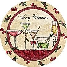 Thirstystone Stoneware Coaster Set, Merry Christmas Cocktails