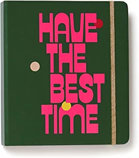 ban.do Women's Undated Hardcover Travel Daily Planner (Have The Best Time)