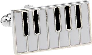 Piano Keys Cufflinks Gift Music Fan Cuff Links