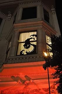 Oogie Boogie, Nightmare Before Christmas Window Decal, Halloween Decoration. Disney window Decal