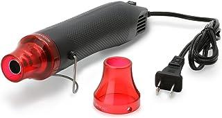 ZeopoCase Mini Hot Air Gun, Portable Mini Heat Gun for DIY Embossing Shrink Wrapping Drying Paint, 300W Multi Function Electrical Heat Tool