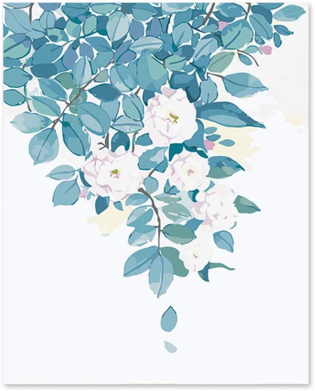Pmhhc Frameless Malen Nach Zahlen Kunst Malen Nach Zahlen Rosa Heller Blaumenduft Verlässt Weiße Rosa Malen Nach Zahlen B07PCHHKR6 | Passend In Der Farbe