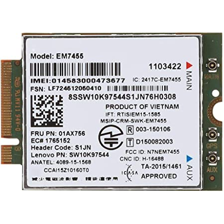 Lenovo Thinkpad Em7455 4g Lte Mobile Broadband Computer Zubehör