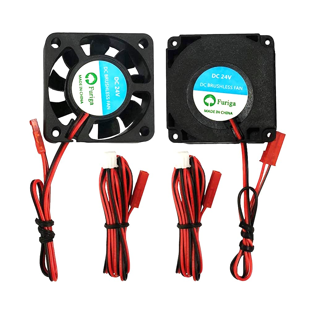 Furiga 4010 24V Blower Fan 40x40x10MM Cooling Fan and Circle Fan Parts 1.2M Cable for Ender 3 Ender 3 Pro 3D Printer