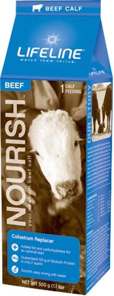 LIFELINE Nourish Beef Colostrum Replacer