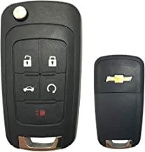 cciyu 1X Uncut 4 Buttons Keyless Entry Remote Fob Replacement fit for 16-2018 Chevrolet Cruze LXP-T003 LXPT003 13588756 23335584