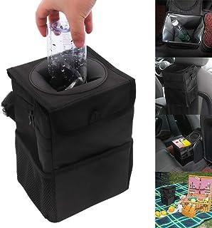 winomo multifuncional coche cubo de basura plegable Leak Proof Trash Bin Papelera para selbstfahrer Viajes