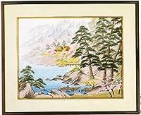 東京文化刺繍キットNo464 浜辺の春(4号)(Bunka Embroidery/Kits No.464)