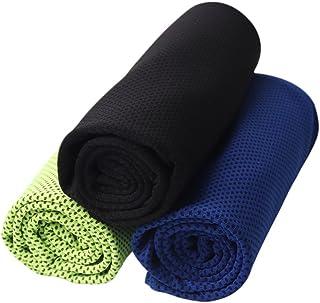 comprar comparacion Barrageon Toalla de Enfriamiento, Toalla Fresca para Deportes, Entrenamiento, Gimnasio, Yoga, Pilates, Viajes, Camping, Cu...