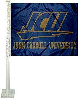 College Flags and Banners Co. John Carroll Blue Streaks Car Flag