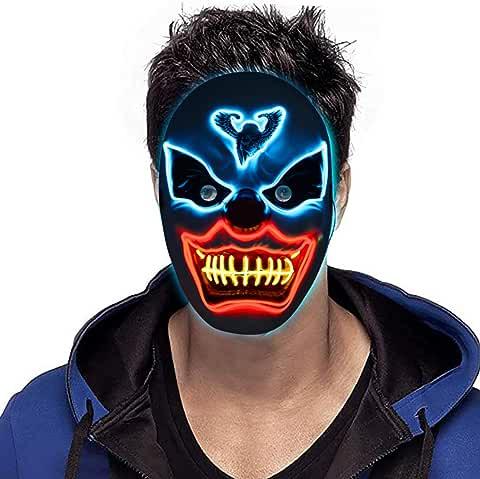 Pegason Scary LED Halloween Mask (Ghost)