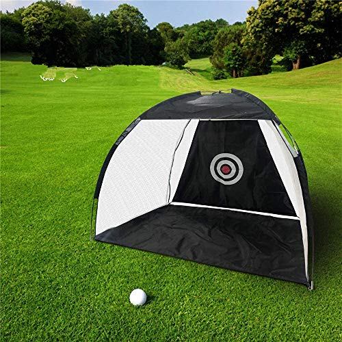 InLoveArts Rete per Allenamento Golf Rete da Golf 2M Attrezzatura da Pratica Pieghevole da Golf con Borsa per Il Trasporto per Interni Esterni