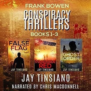 Frank Bowen Conspiracy Thriller Series: Books 1-3 cover art