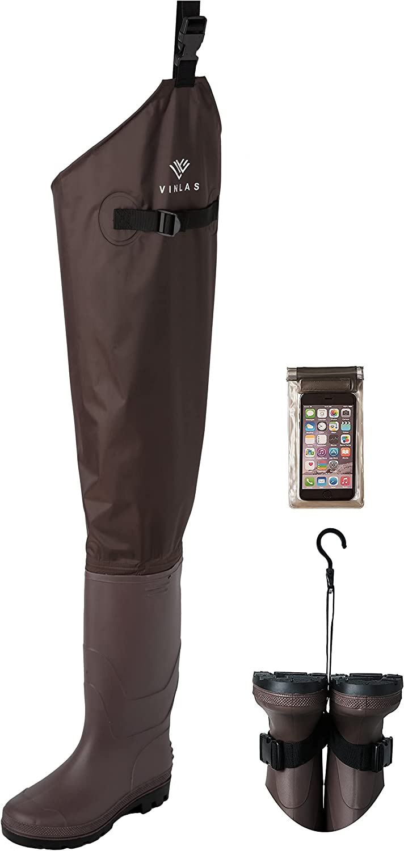 OFFicial Popularity shop Vinlas Hip Waders Waterproof Boot for Women Men Fishin and