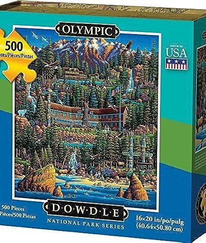 nuevo listado Dowdle Olympic 500pcs 500pcs 500pcs Puzzle by Dowdle  Sin impuestos