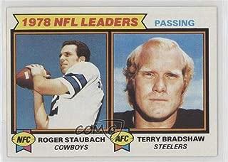 Roger Staubach; Terry Bradshaw (Football Card) 1979 Topps - [Base] #1