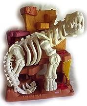 imaginext island of lost creatures dinosaur skeleton playset