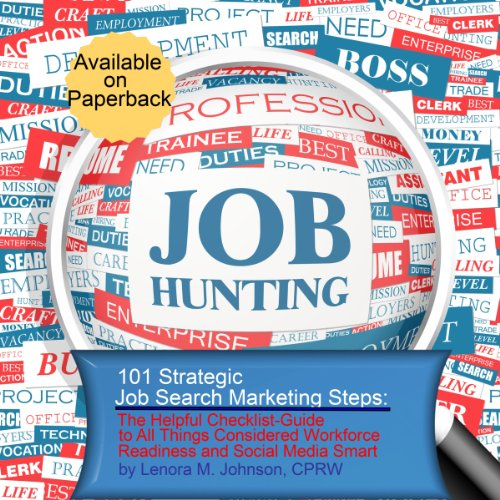 101 Strategic, Job Search Marketing Steps cover art