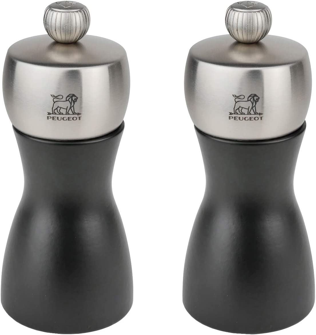 Peugeot Fidji Stainless Steel Inexpensive Salt and Max 54% OFF 12cm Mill Set 3 Pepper 4