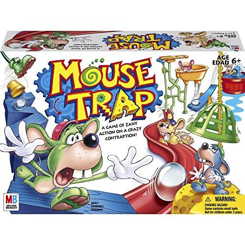 Hasbro Gaming Mouse Trap Board Game For...