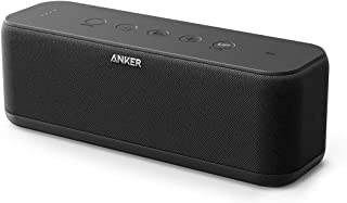 Anker Bluetooth Speakers Soundcore Boost 20W Bluetooth Speaker With Bassup Technology 12H Playtime Ipx5 Water-Resistant Portable Speaker With Superior Sound & Bass For Iphone Samsung 1.29 Pounds Black