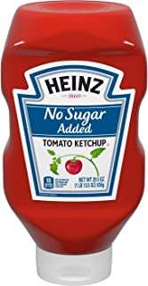 Heinz No Sugar Added Tomato Ketchup 29.5oz (1 PACK)