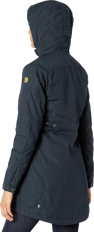 Fjallraven Damen Kiruna Padded Parka W Sport Jacket Dark Navy