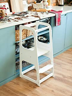 Learning tower Kitchen Helper Kitchen stool Safety stool Toddler step stool Kid Step Stool Activity tower Montessori tower Stepping stool