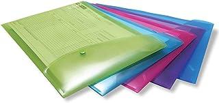 Rapesco 0698 Porte-Documents A4 - Couleurs Assorties - Lot de 5