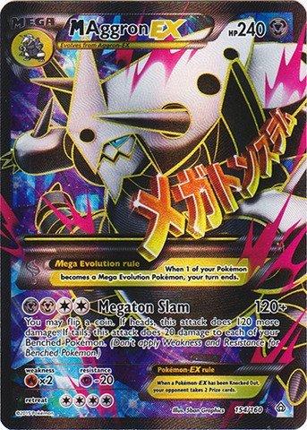 Pokemon - Mega-Aggron-EX (154/160) - XY Primal Clash - Holo