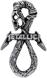 Metallica - Pewter Pin Badge - Dont Tread On Me