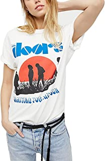 Aesthetic T Shirts Women Summer Fall Vintage Retro Graphic White Grunge Tee Tops Clothing Oversized Plus Size