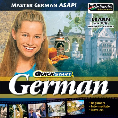 Quickstart German audiobook cover art