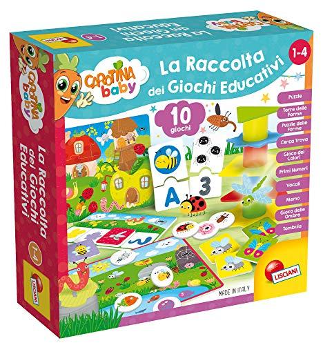 Lisciani Giochi- Carotina Baby La Raccolta Giochi Educativi, Multicolore, 79896