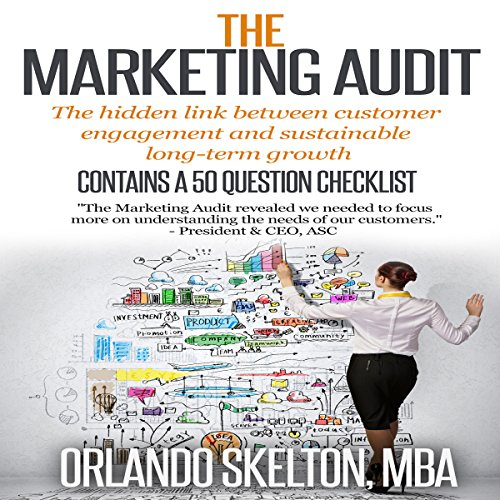 The Marketing Audit audiobook cover art