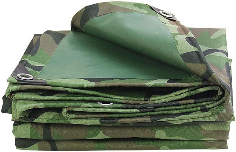 DJSMpb Baches Bache de Camouflage, bache résistante imperméable à l'eau, appropriée aux Articles de Camo, décoration de Jardin, Camping extérieur (Taille   6  6M)