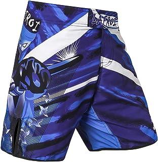 LAFROI メンズ・ファイトショーツ・ボクシング・フィットネス・ドローストリング付き