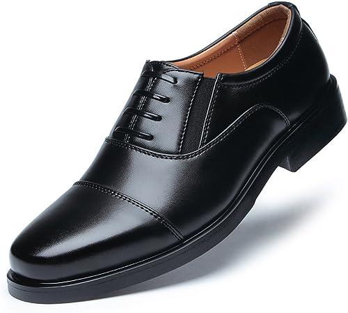 LYZGF Hommes Messieurs Affaires Affaires Occasionnels Mode Couture Dentelle Chaussures en Cuir  profitez d'une réduction de 30 à 50%