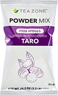 Best tea zone taro powder Reviews