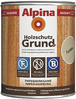 Alpina Lasur Holzschutzgrund farblos 2,5 Liter