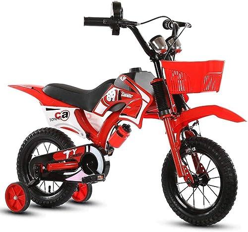Daxiong Kinderfahrrad Balance Motorrad Motorrad-Stil rot und blau für 2-3 Jahre alte Kinder