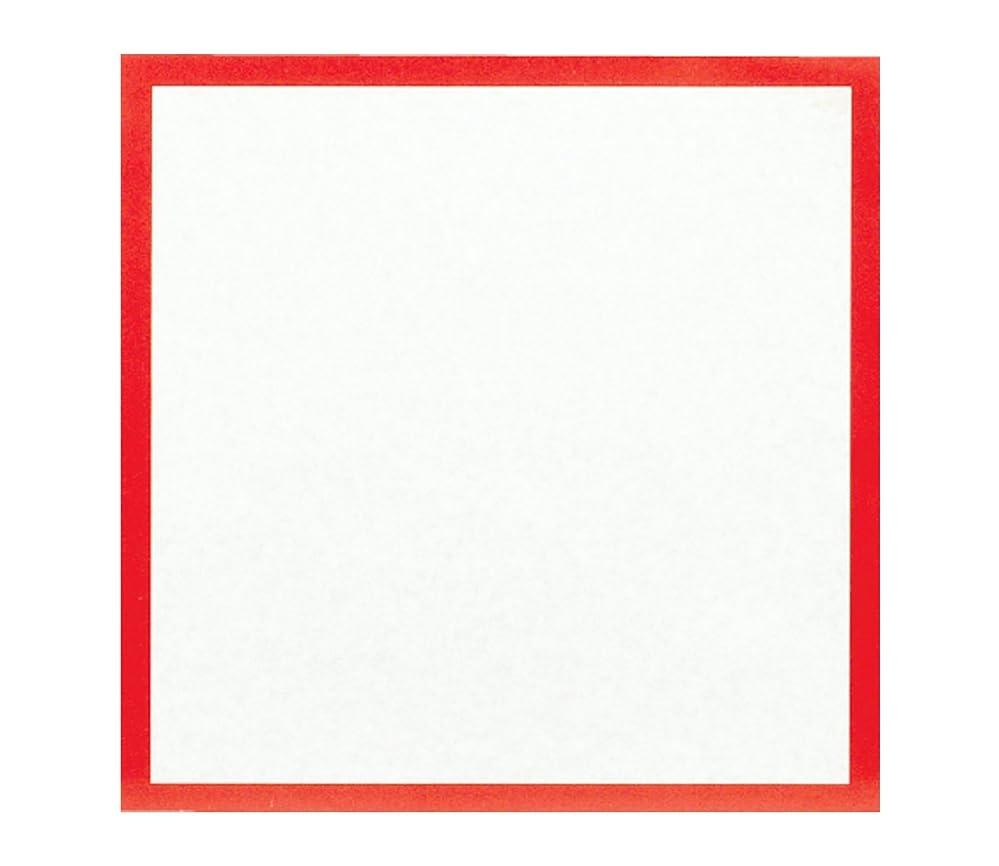 ピーク何錫大黒工業 『業務用』  敷紙 赤 6寸 (約18×18cm) 100枚入
