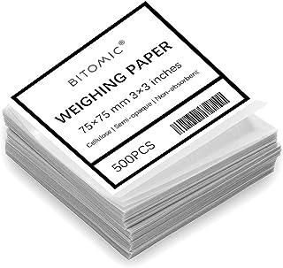 Grade B-2 Whatman 10347670 Nitrogen-Free Parchment Weighing Paper Sheet Pack of 500 12 Length x 12 Width