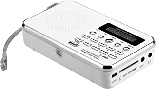 Docooler L-938 Mini FM Radio Digital Portable 3W Stereo Speaker MP3 Audio Player High Fidelity Sound Quality w/ 1.5 Inch D...